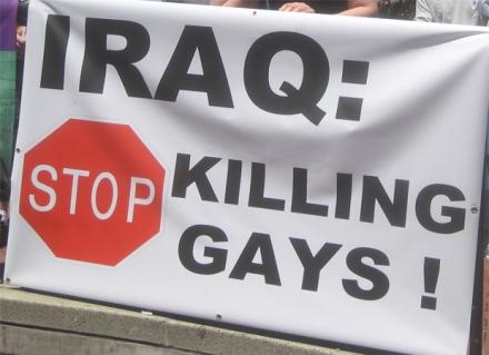 stop killing gays iraq